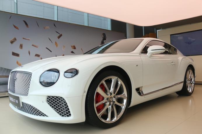 2020款宾利欧陆GT V8苏州到店鉴赏