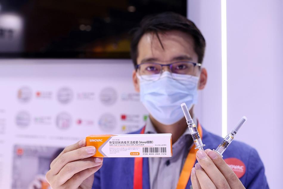 """北京:国产新冠疫苗""""服贸会""""首次亮相"""