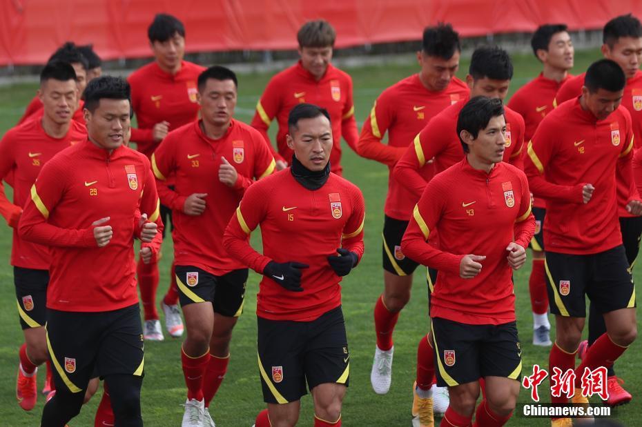 国足上海集训备战世预赛