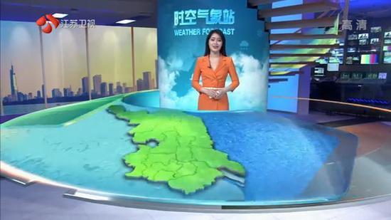 寒潮蓝色预警:江苏大部分地区有冰冻 最低-2℃