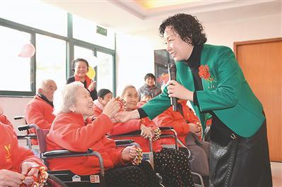 """南京为老人建好""""第二家园"""""""