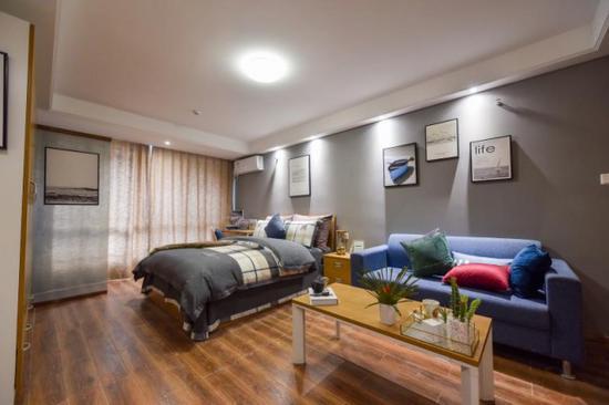 东南青年汇同心店公寓。