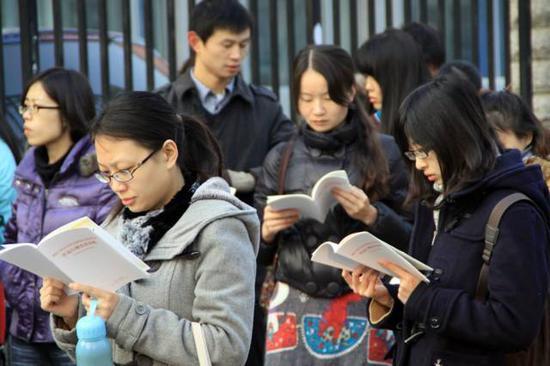 国考江苏地区今年招录552人 比去年减少近一半