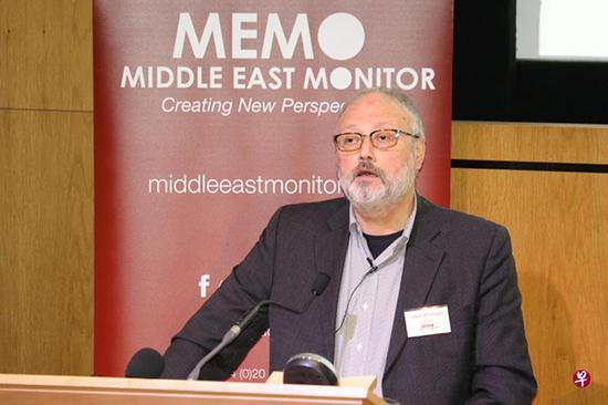 沙特阿拉伯记者卡舒吉。