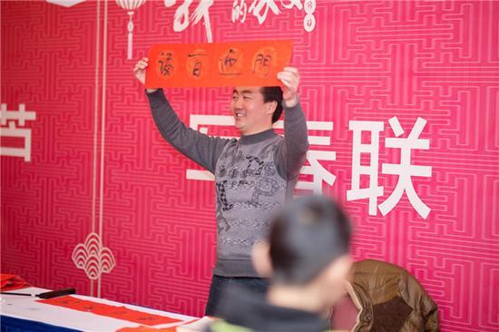 苏州天丰泰总经理蔡智恩先生致祝酒词