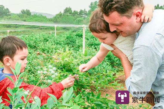 马克斯经常带孩子们在农场里玩