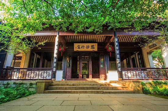 图/惠山古镇景区