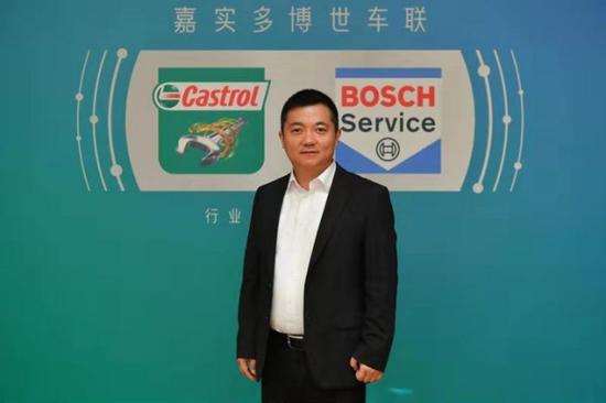 博世汽车售后市场中国区销售副总裁 黄冬云先生