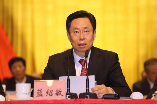 江苏省委常委、苏州市委书记蓝绍敏