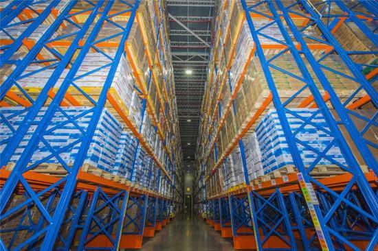 ▲南京万纬冷链物流有限公司——食品安全防线的共筑者