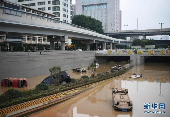 河南强降雨已致99人遇难 失踪人数正在核查