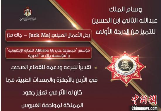 图为约旦国王官方账号在社交媒体发布的图片。阿里供图
