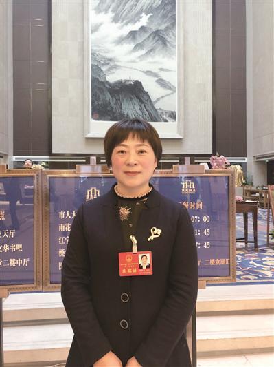 南京市人大代表张朋芳