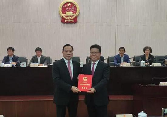 王剑锋任徐州市副市长 花玉军为市中级人民法院副院长