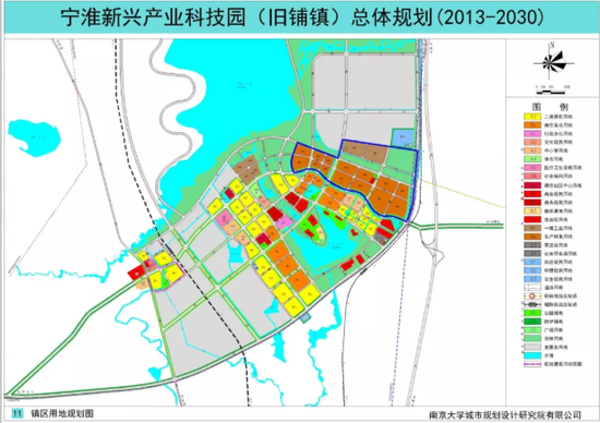 宁淮合作特别区(前身是宁淮新兴产业科技园)所在位置
