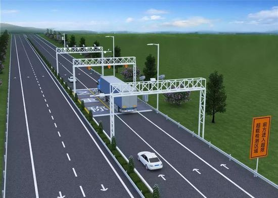 南京:年底前将设50处超限超载不停车检测系统 全天监控