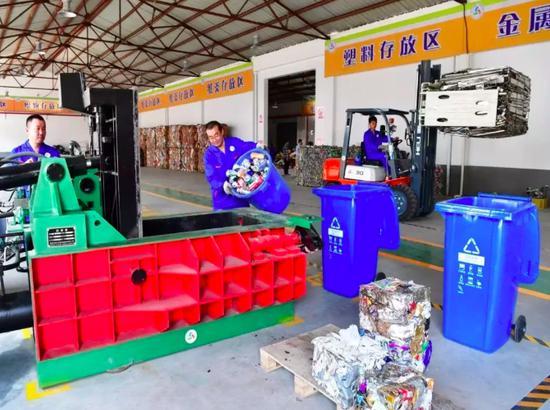 对机关单位:强制垃圾分类