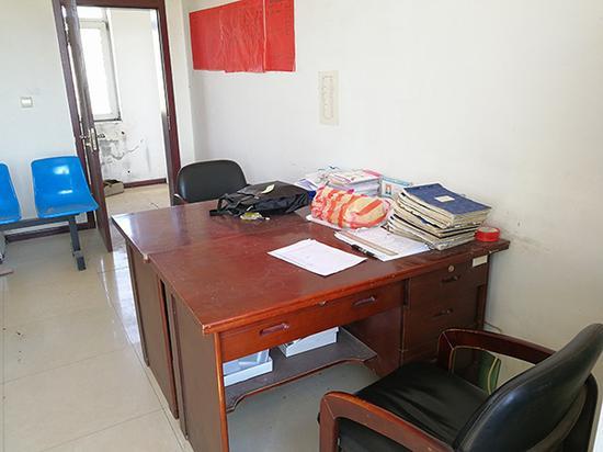 郑海波是在村部办公室被枪杀。澎湃新闻记者 朱远祥 图