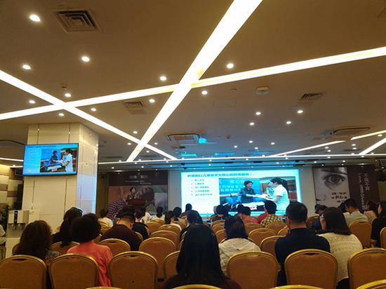 5月29日,中国民间受虐儿童服务研讨会在京召开。澎湃记者廖瑾 图