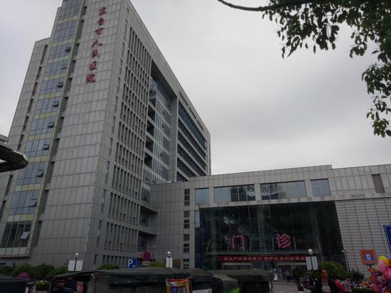 东台市人民医院。 新京报拍客 摄