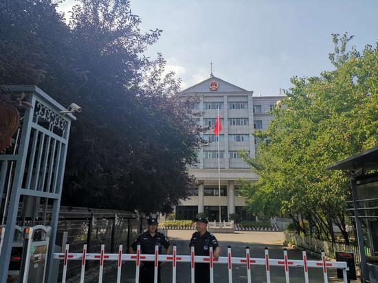 辽源中院 。新京报记者 赵凯迪 摄