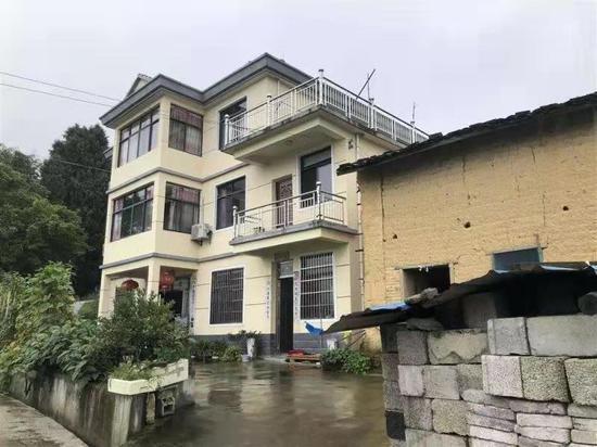 ▲章子欣的家在这里。新京报记者侯少卿摄