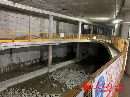 图为南京湖南路地下商业街项目