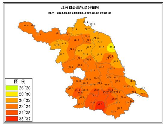 江苏最高气温将跌破30℃!这次真要凉快了?气象部门这样说…