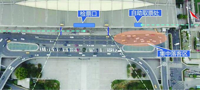 南京站地区交通启动优化提升 重点打通二楼落客平台等点位拥堵
