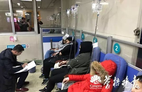 连云港一所学校14名学生出现呕吐等突发病情