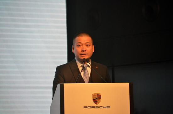 苏州吴中保时捷中心总经理张祺先生致辞