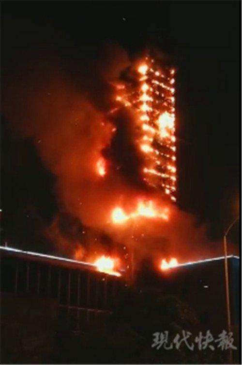 △ 起火现场 图片来自网络