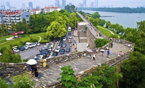 南京明城墙资料图