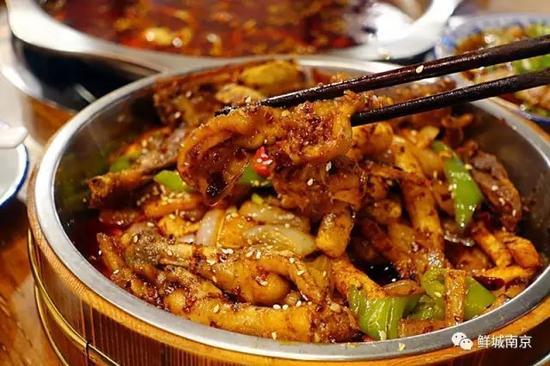 鸭掌干锅自制A4菜谱纸图片