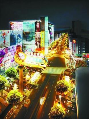 """湖南路,南京""""夜经济""""地标之一"""