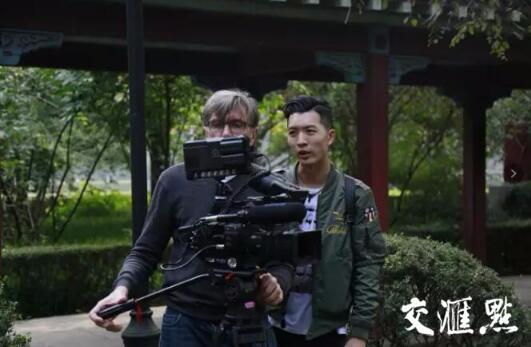 克里斯·马吉和拍摄助理在南师大