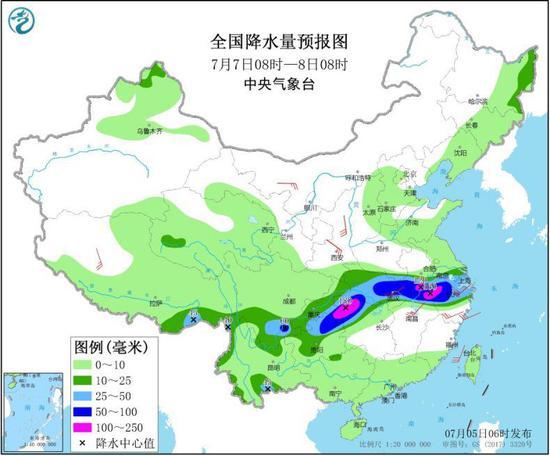 华北东北多对流性天气 江苏上海浙江等地将有强降雨