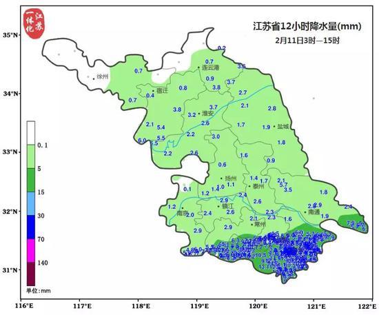 升温都是假象 江苏冷空气和雨雪