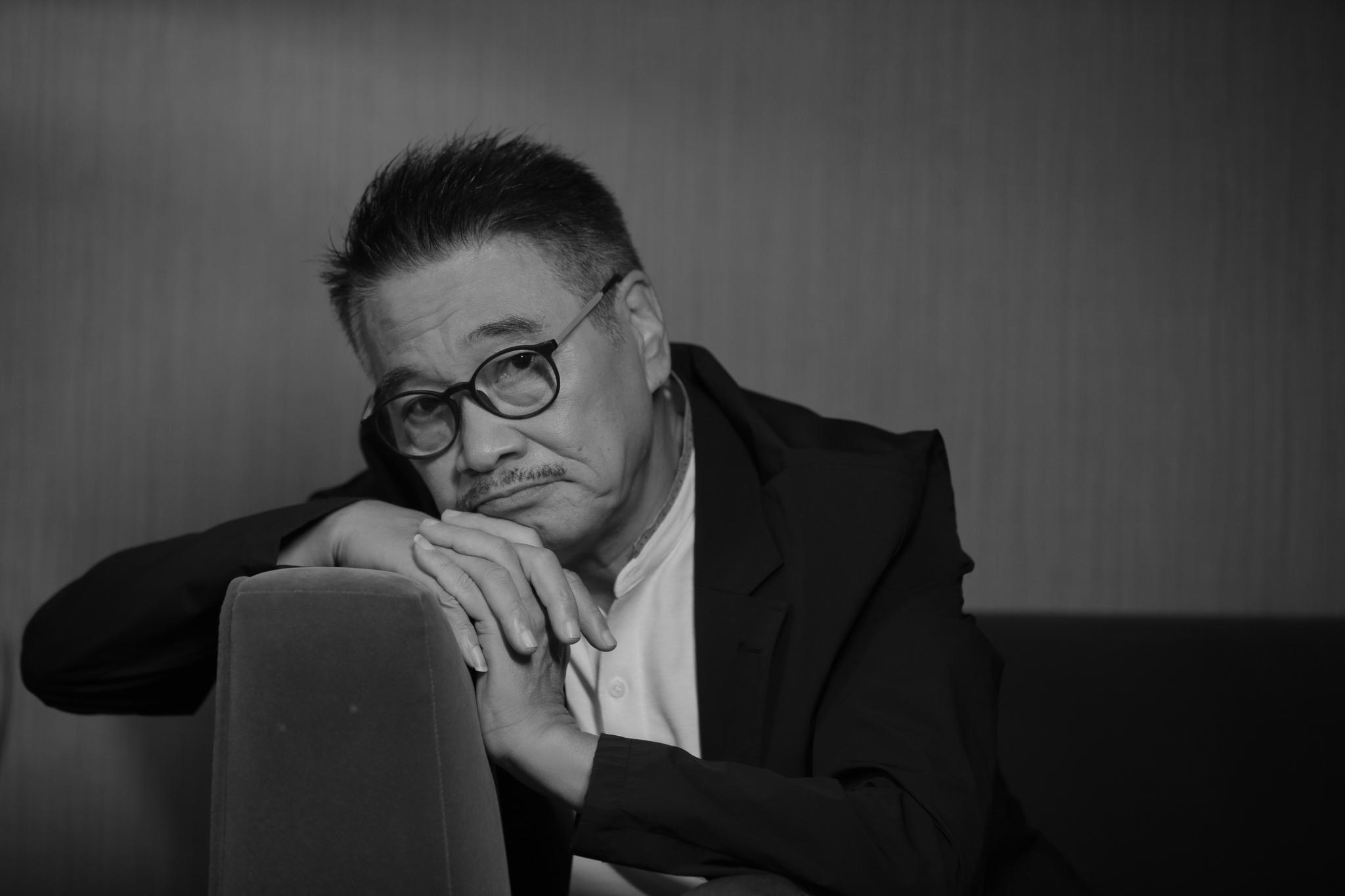 2018年8月吴孟达在京接受新京报记者采访。资料图片/朱骏 摄