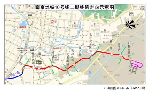线路图来自江苏环保公众网