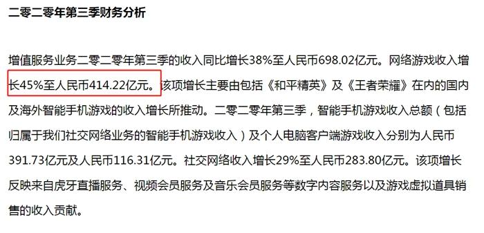 图片来源:腾讯公布的财报数据截图