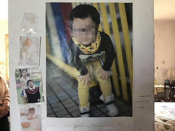 死者9岁男孩罗琪 澎湃新闻记者 蒋格伟 翻拍
