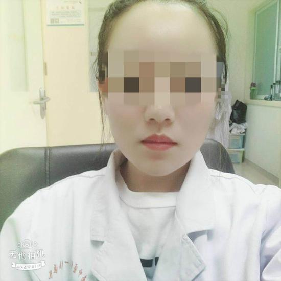 受害者生前照片。 受访者供图