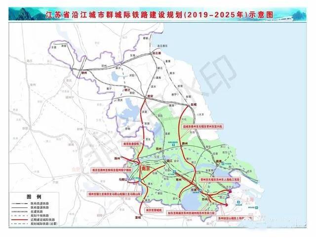 江苏交通重点项目3年推进计划 19条铁路开工时间明确