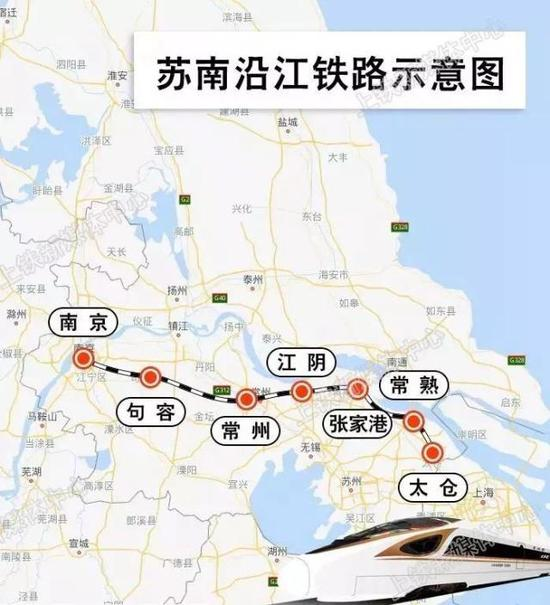 江苏南沿江城际铁路建成后