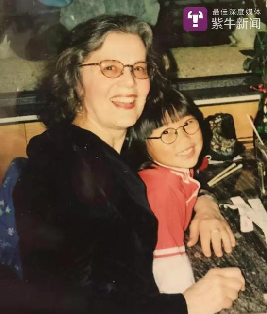 潘甜甜和她的美国妈妈