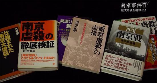 纪录片所批评的部分历史修正主义出版物