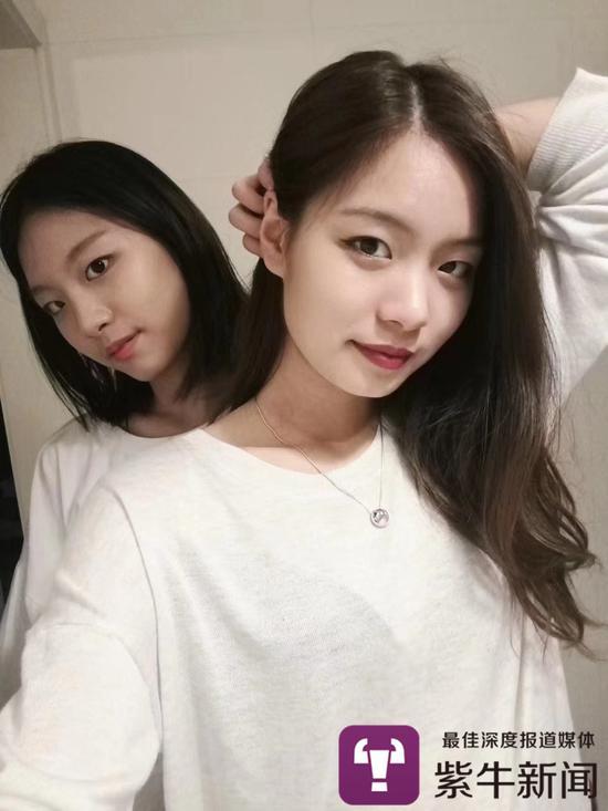 李春辉的双胞胎女儿