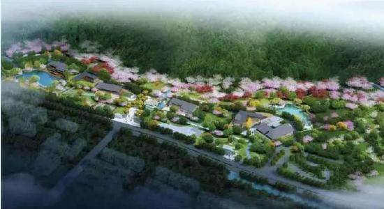 ▲蒋王庙游览区:蒋王庙民俗风情街