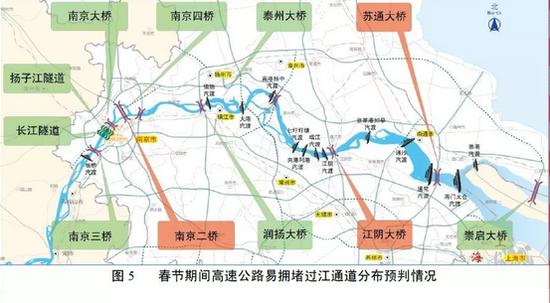 建议尽量避开上述三座跨江大桥,选择其他过江通道绕行。